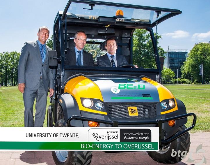 Twente ontwikkelt diesel uit hout