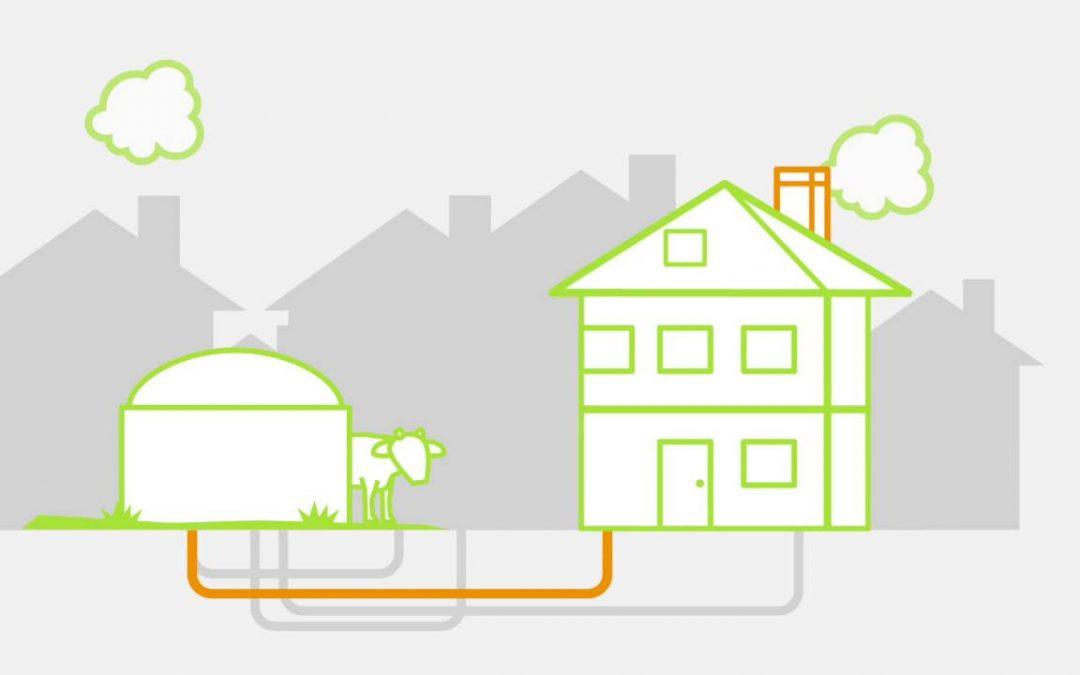 Kleinschalige opwaardering biogas