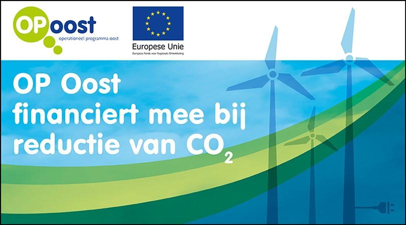 Europese bijdrage voor slimme CO2-reductie Oost Nederland
