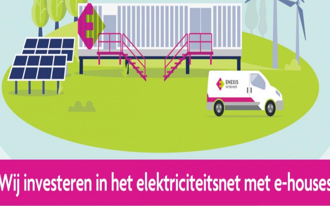 E-houses zorgen voor snellere uitbreiding netcapaciteit