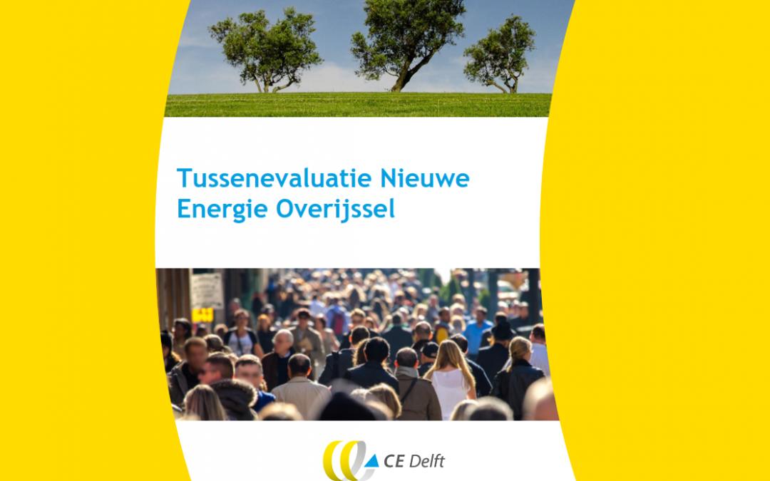 Gestage groei duurzame energie provincie Overijssel