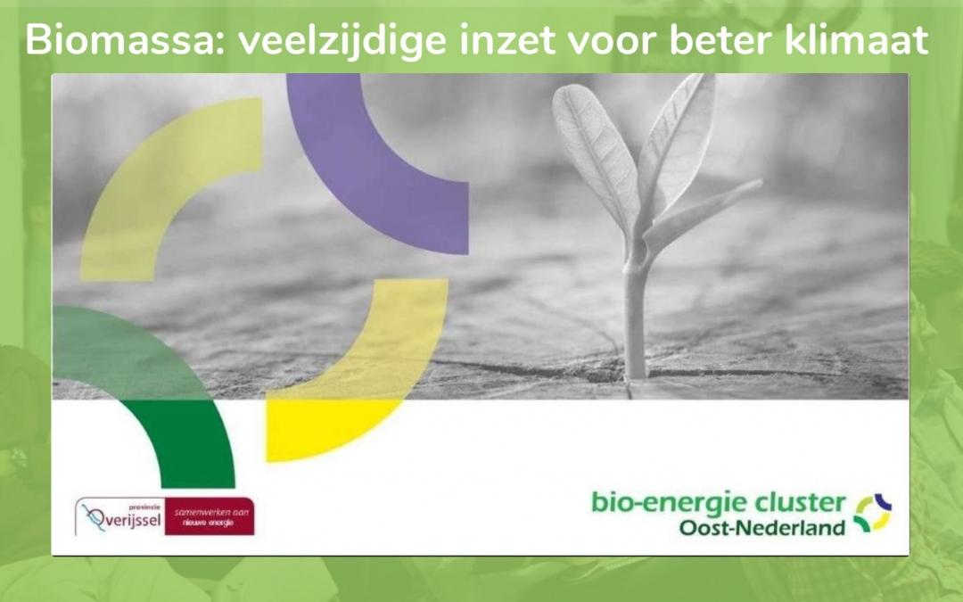 Biomassa: veelzijdig inzetten voor een beter klimaat