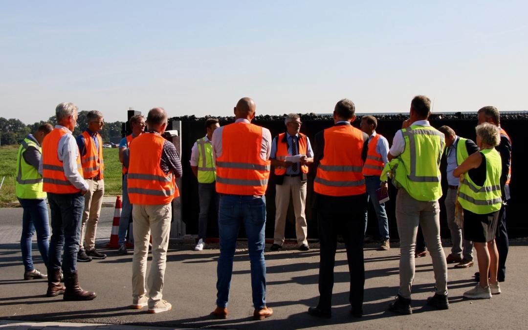 Bestuurders onder indruk van nieuwe groengas installaties in Oost-Nederland
