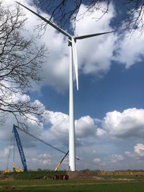 Excursie Windpark Nieuwleusen